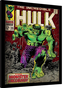 Incredible Hulk - Monster Unleashed Poster enmarcado