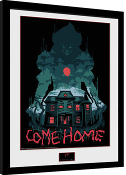 IT: Capítulo 2 - Come Home Poster enmarcado