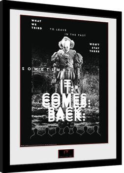 IT: Capítulo 2 - It Comes Back Poster enmarcado