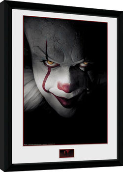 IT - Close Up Poster enmarcado