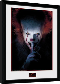 IT - Finger Poster enmarcado