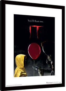 IT - Pennywise & Georgie Poster enmarcado