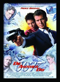 JAMES BOND 007 - Die Another Day Poster enmarcado