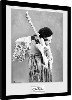 Poster enmarcado Jimi Hendrix - Pose