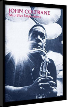 JOHN COLTRANE - afro blue impressions Poster enmarcado