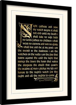 Juego de Tronos - Seasons 3 Poster enmarcado
