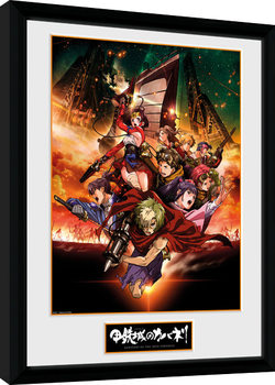 Kabaneri of the Iron Fortress - Collage Poster enmarcado