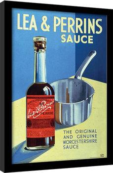 Lea & Perrins - The Original Worcester Sauce Poster enmarcado