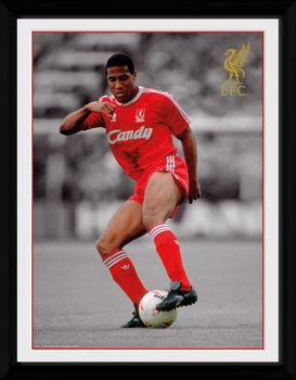 Liverpool - Barnes Poster enmarcado