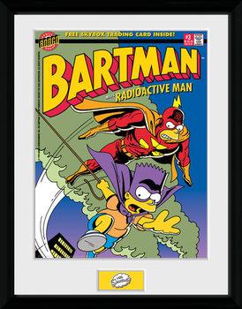Los Simpson - Bartman Poster enmarcado