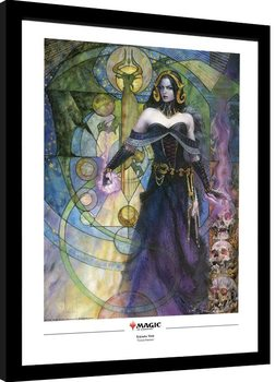 Magic The Gathering - Liliana, Untouched by Death Poster enmarcado