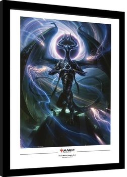 Magic The Gathering - Nicol Bolas, Dragon God Poster enmarcado
