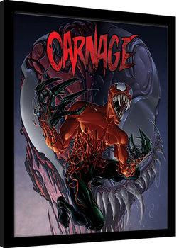 Marvel Extreme - Carnage Poster enmarcado