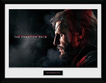 Metal Gear Solid V - Snake Poster enmarcado