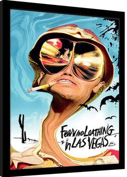 Miedo y asco en Las Vegas Poster enmarcado