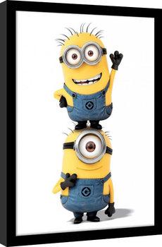 Minions (Gru: Mi villano favorito) - Minions Poster enmarcado