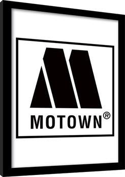 MOTOWN records - Logo Poster enmarcado