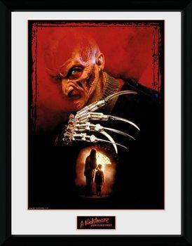 Nightmare On Elm Street - Collage Poster enmarcado