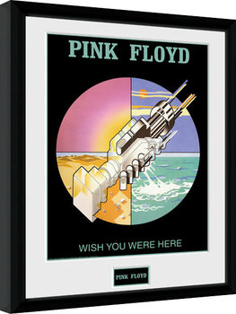 Pink Floyd - Wish You Were Here 2 Poster enmarcado