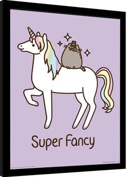 Pusheen - Super Fancy Poster enmarcado