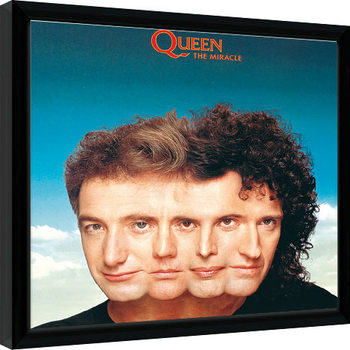 Queen - The Miracle Poster enmarcado