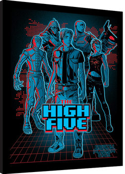 Ready Player One - The High Five Poster enmarcado