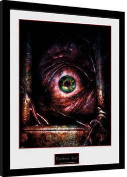Resident Evil - Eye Poster enmarcado