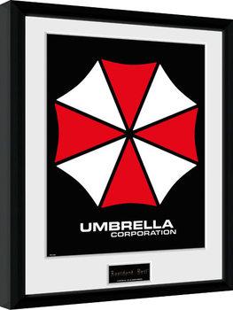 Resident Evil - Umbrella Poster enmarcado