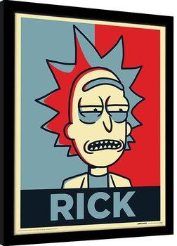 Rick & Morty - Rick Campaign Poster enmarcado