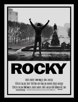 Rocky - Rocky I Poster enmarcado