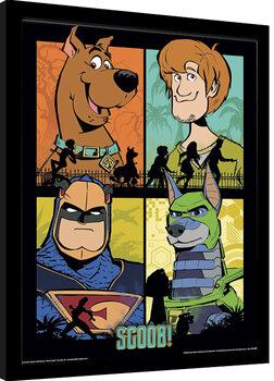 Poster enmarcado Scoob! - The Heroes
