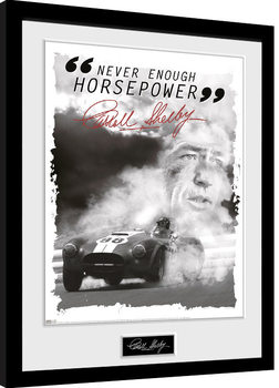 Poster enmarcado Shelby - Never Enough HP