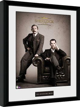 Sherlock - Victorian Poster enmarcado