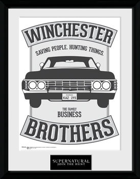 Sobrenatural - Winchester marco de plástico