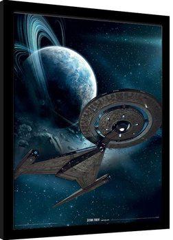 Star Trek: Discovery - Deep Space Poster enmarcado