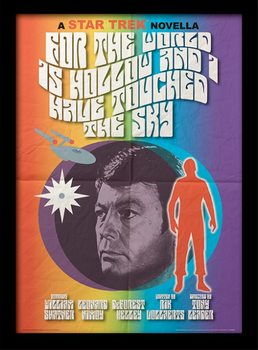 Star Trek (La conquista del espacio) - For The World Is Hollow And I Have Touched The Sky Poster enmarcado