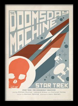 Star Trek (La conquista del espacio) - The Doomsday Machine Poster enmarcado