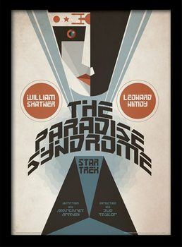 Star Trek (La conquista del espacio) - The Paradise Syndrome Poster enmarcado