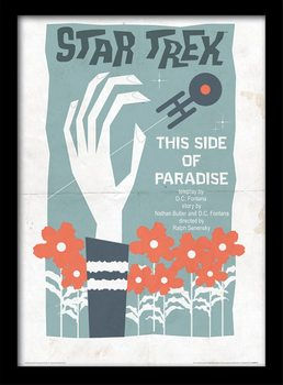 Star Trek (La conquista del espacio) - This Side Of Paradise Poster enmarcado