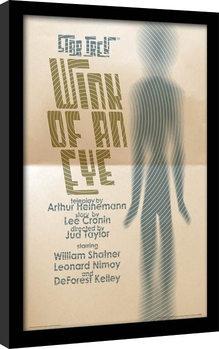 Star Trek (La conquista del espacio) - Wink Of An Eye Poster enmarcado