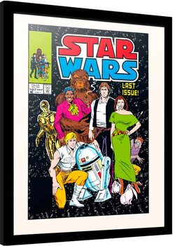 Poster enmarcado Star Wars - All Together Now