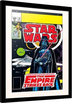 Poster enmarcado Star Wars: Episode V - Empire Strikes Back - The Beginning
