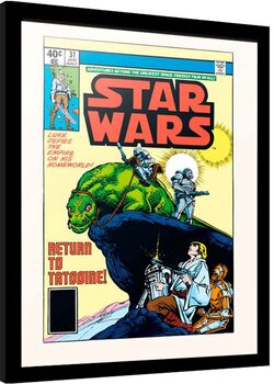 Poster enmarcado Star Wars - Return to Tatooine
