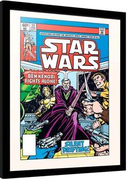 Poster enmarcado Star Wars - Silent Drigting