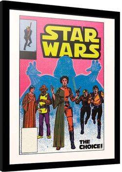 Poster enmarcado Star Wars - The Choice