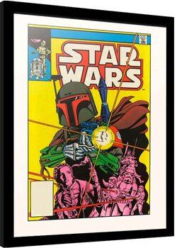 Poster enmarcado Star Wars - The Search Begins