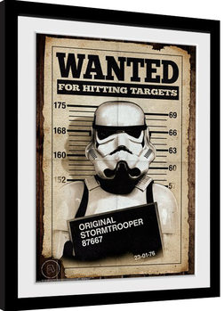 Stormtrooper - Mug Shot Poster enmarcado
