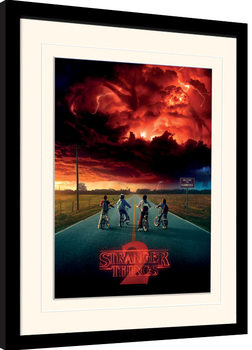 Stranger Things - Mind Flayer Poster enmarcado