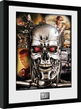 Terminator 2 - Collage Poster enmarcado