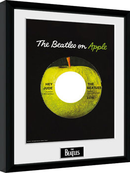 The Beatles - Apple Poster enmarcado
